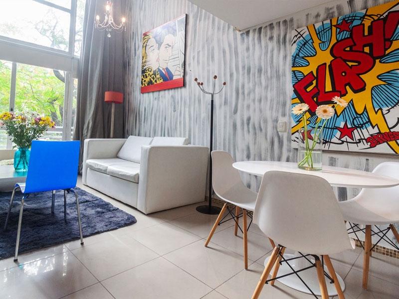 Apartment in Palermo Soho, Blue Loft