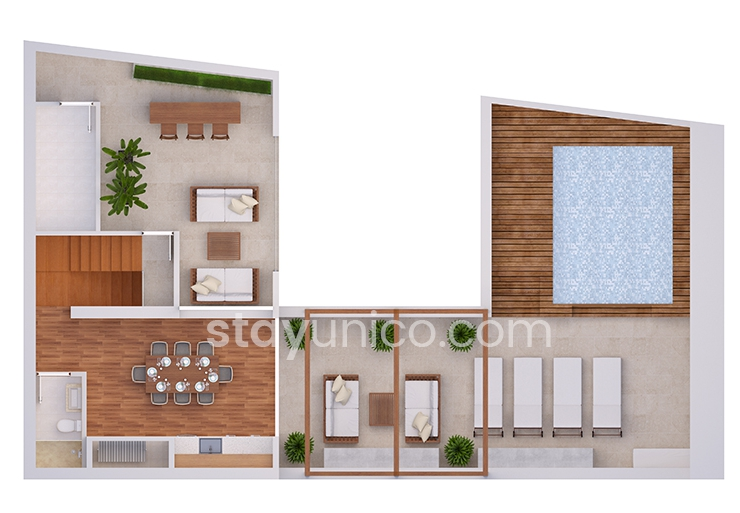 Apartment in Palermo Soho Floorplan