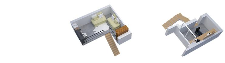Apartment in Recoleta Floorplan