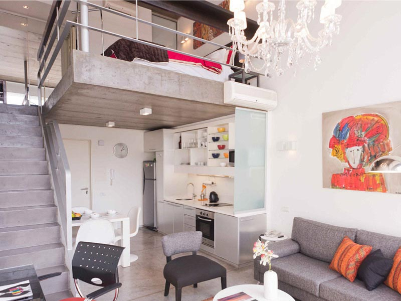 Apartment in Palermo Hollywood, Industrial Spirit