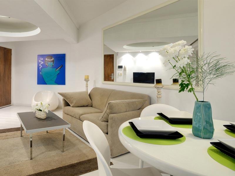 Apartment in Palermo Soho, White Loft