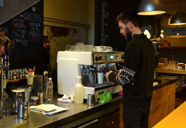 LAB Coffee Whouse Palermo Hollywood Buenos Aires