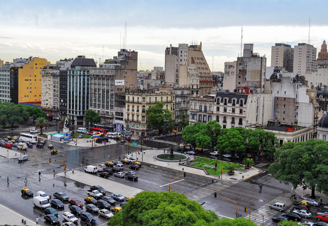 Fun Facts 9 de Julio Avenue in Buenos Aires Argentina