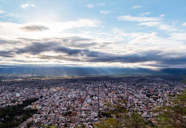 Salta Cerro San Bernardo Argetina