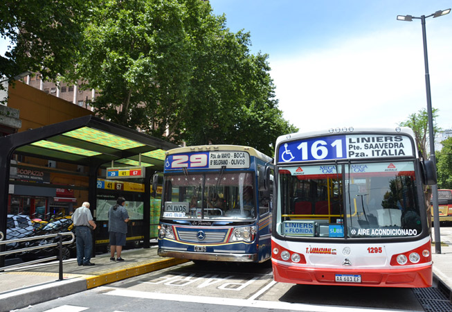 Slang Buenos Aires Bondi Colectivo Bus