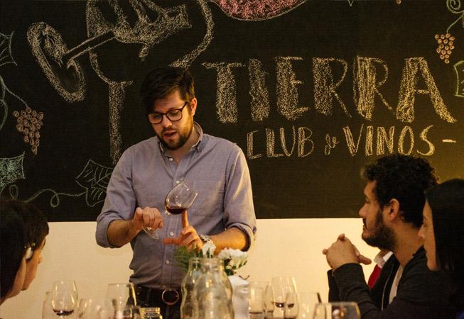 Tierra Club de Vinos Buenos Aires Argentina Wine Tasting