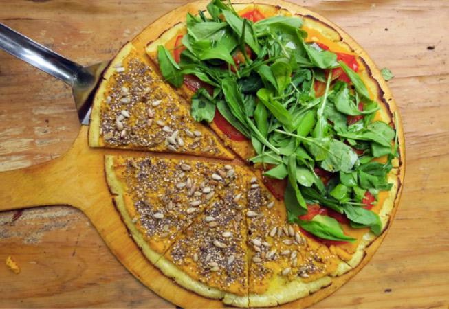 Vegan Vegetarian Buenos Aires Pizza Vegana